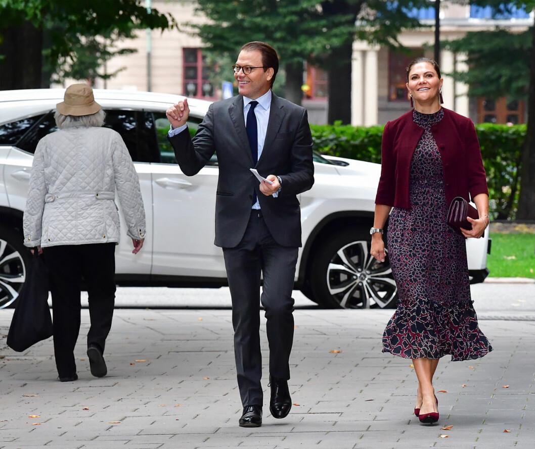 Kronprinsessan Victoria Prins Daniel Maxim Maximteatern