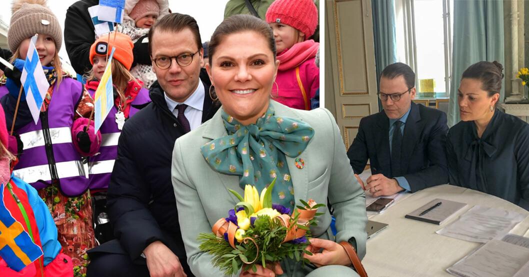 Victoria och Daniel - nya vardagen på Haga i coronakrisen