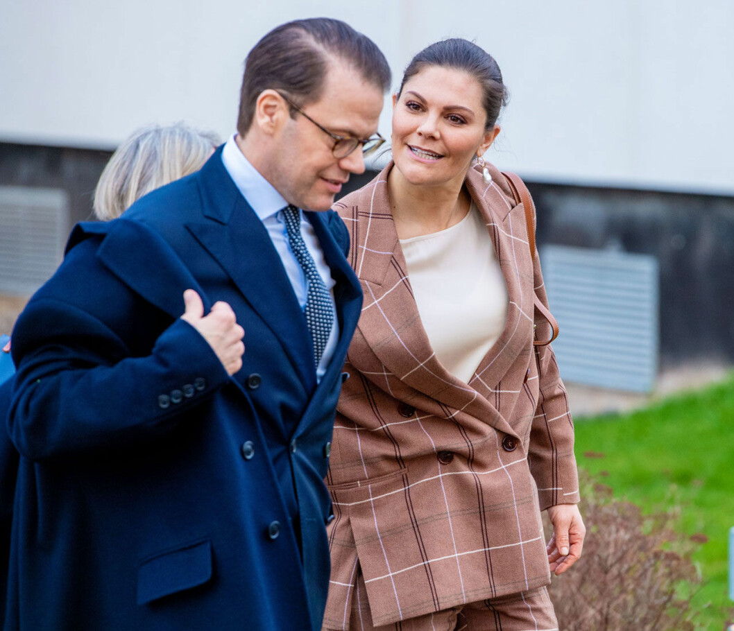 Daniel och Victoria var på studiebesök tillsammans.