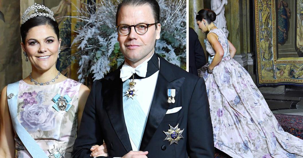 Kronprinsessan Victoria släp prins Daniel