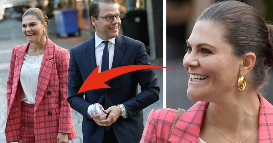 Kronprinsessan Victoria och prins Daniel i Gävle med Generation Pep