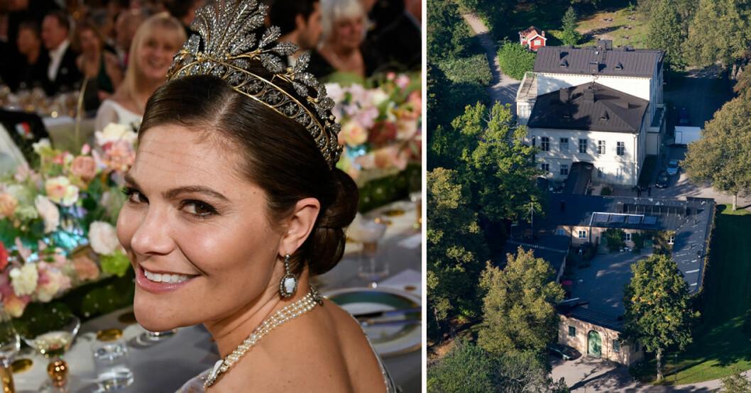 Kronprinsessan Victoria och Haga slott
