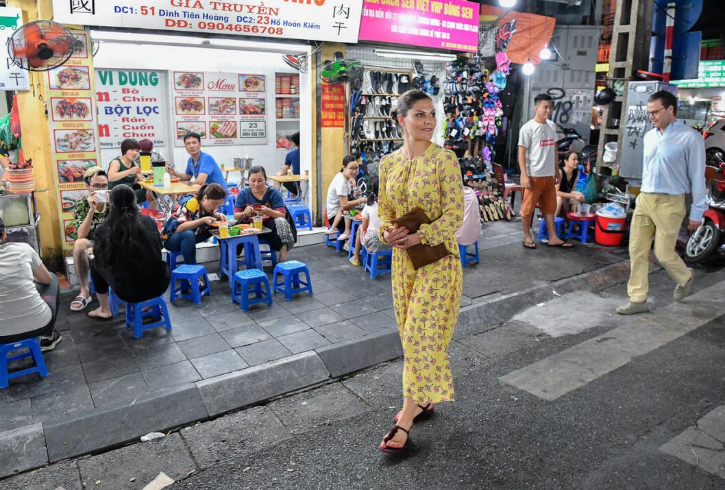 Victoria och Daniel i Hanoi.