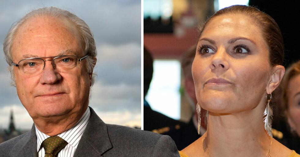 kronprinsessan victoria kung carl gustaf åtalsimmunitet