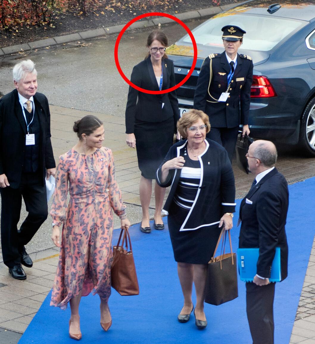 Lena Bartholdson hovmarskalk och chef för kronprinsessan Victorias hovstat