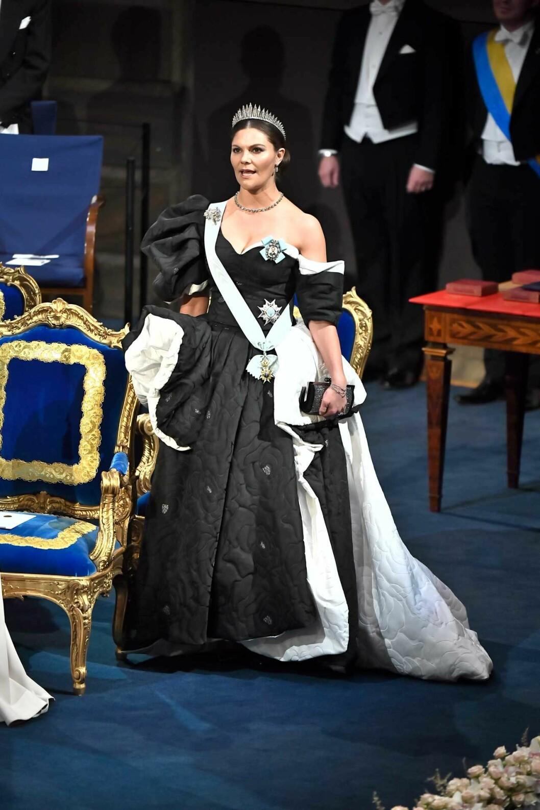 Victorias Nobelklänning 2019 skapad av Selam Fessahaye.
