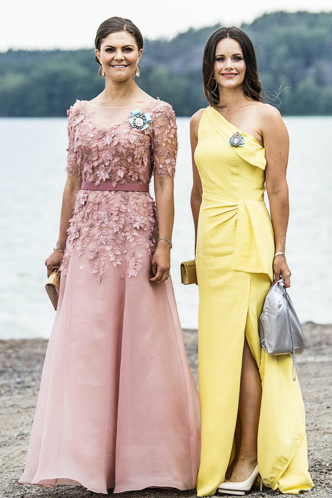 Victoriadagen 2020 - kronprinsessan Victoria och prinsessan Sofia.