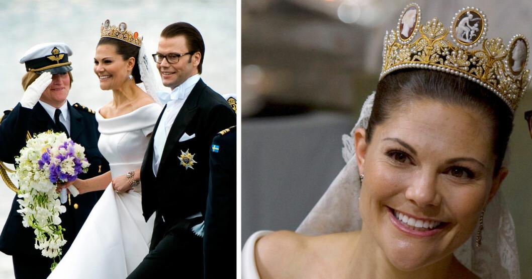 kronprinsessan victoria bröllop 2010