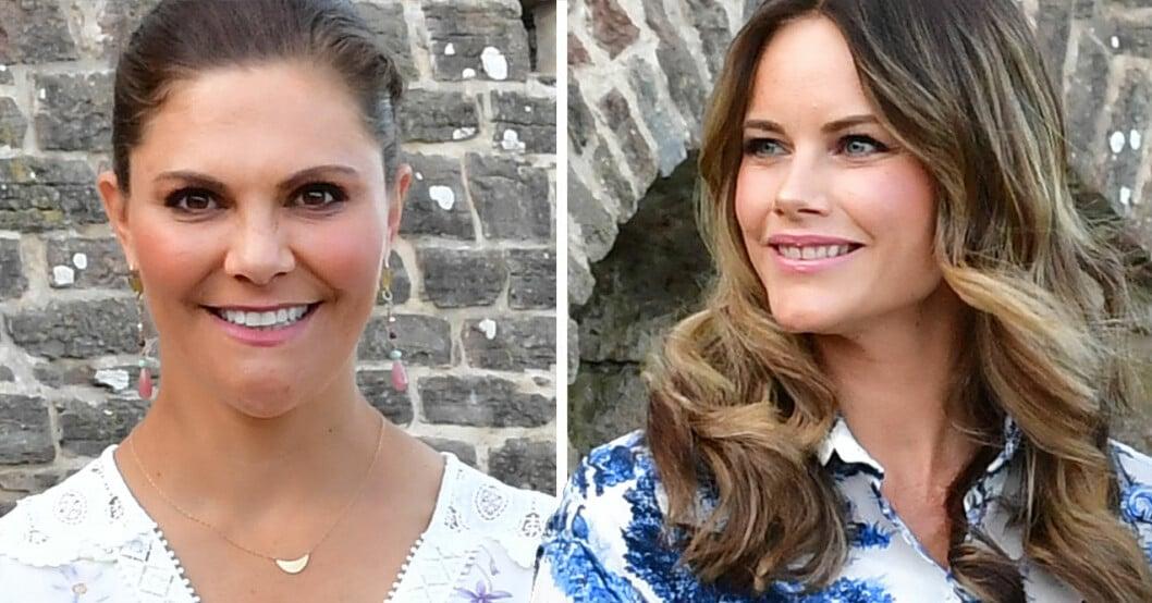 Victoriadagen 2020 kronprinsessan Victoria och prinsessan Sofia