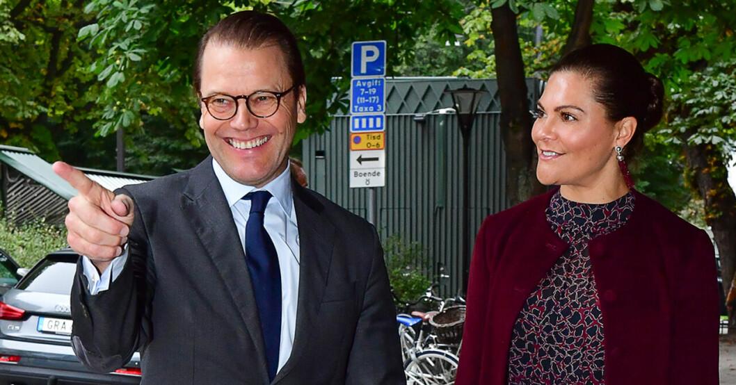 Bilden på kronprinsessan Victoria och prins Daniel chockar