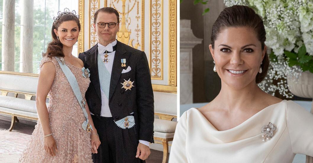 kronprinsessan victoria prins daniel nya bilder bröllopsdagen
