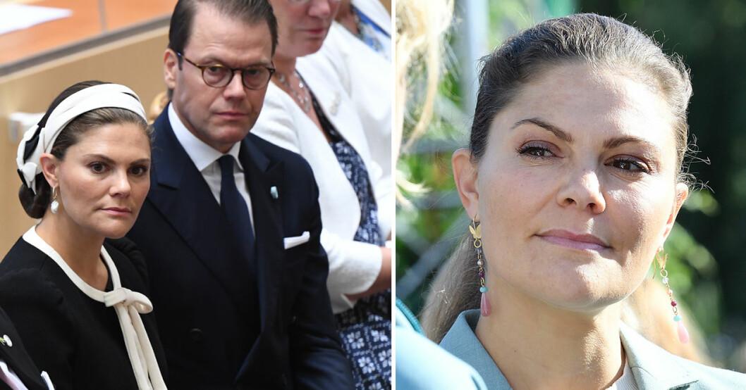 kronprinsessan victoria och prins daniel missar riksmötets öppnande 2020