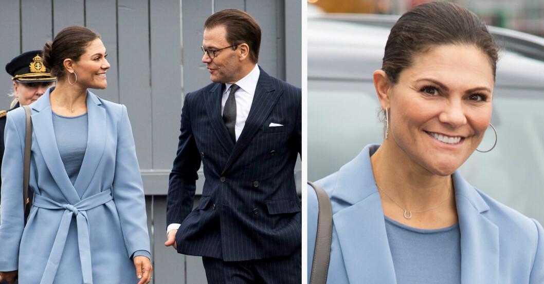 Kärleksfulla gnabbet mellan kronprinsessan Victoria och prins Daniel i Örebro
