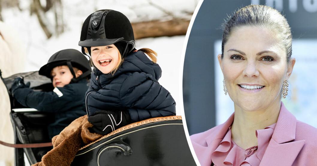 kronprinsessan victoria laddar för nobelfesten 2019
