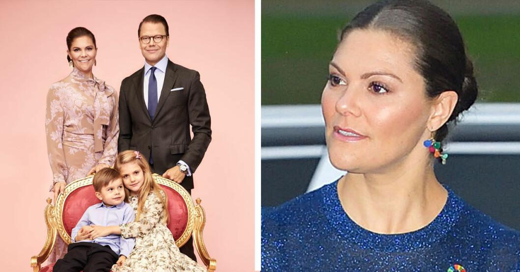 Victoria och hennes fina familj.