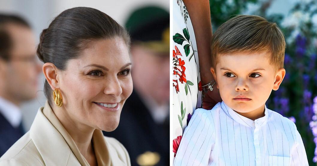 kronprinsessan victorias beslut för prins oscar