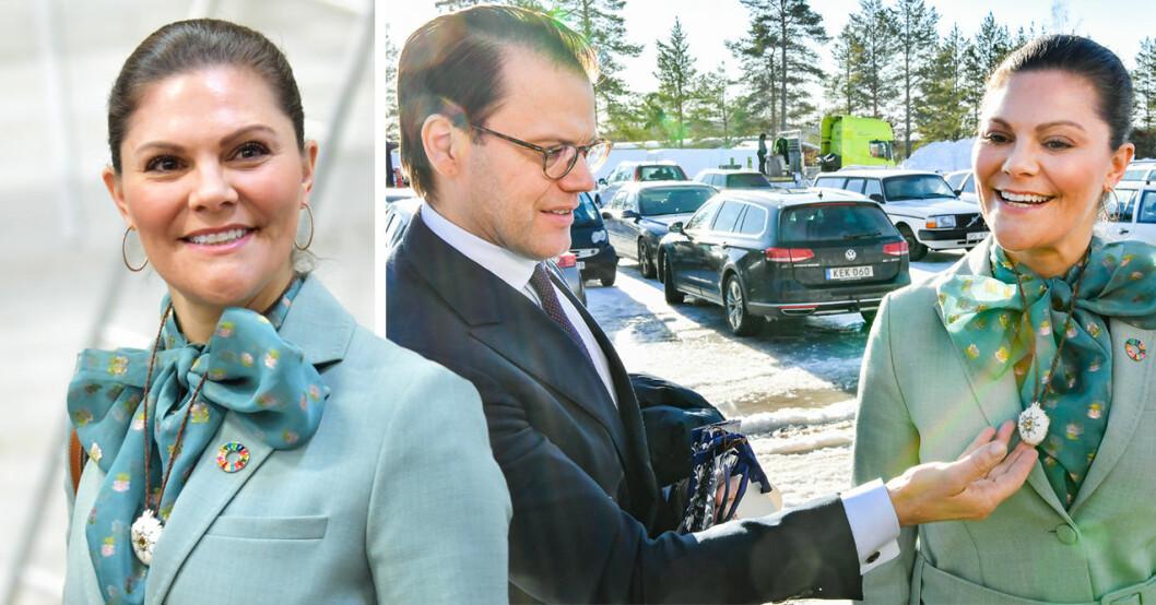 kronprinsessan victoria och prins daniel i överkalox
