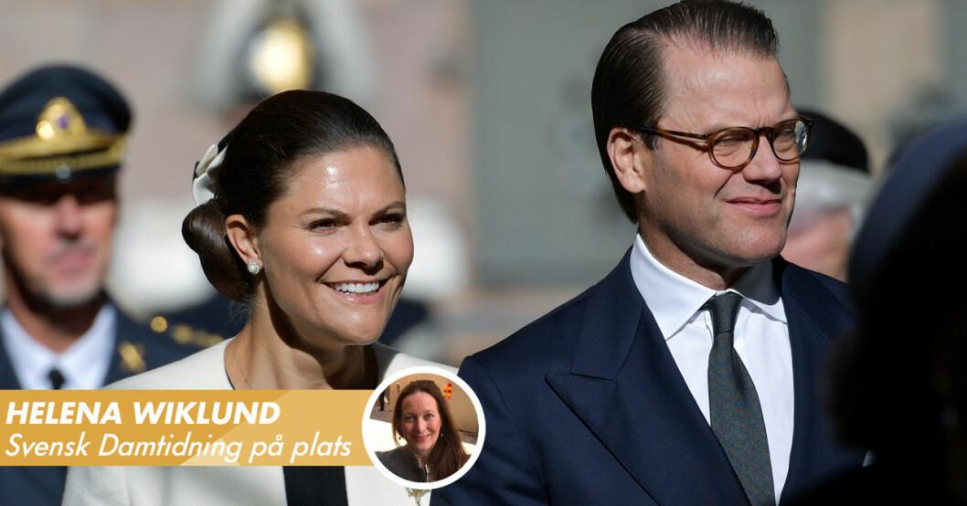 Kronprinsessan Victoria Prins Daniel riksmötet 2021 Storkyrkan