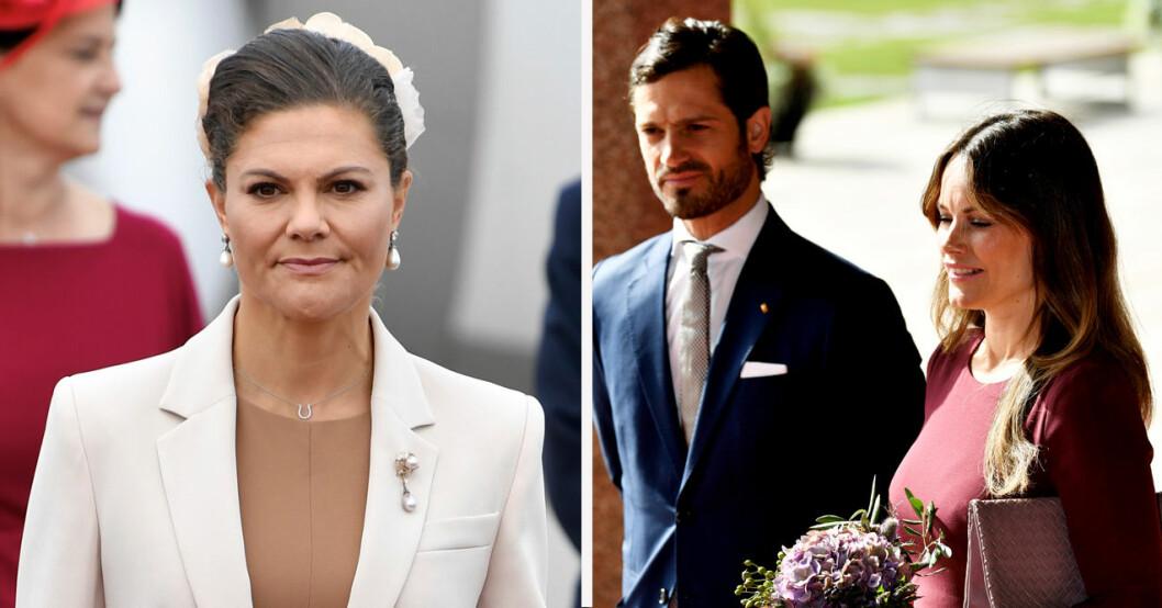 Kronprinsessan Victoria och prinsessan Sofia tyska statsbesöket 2021