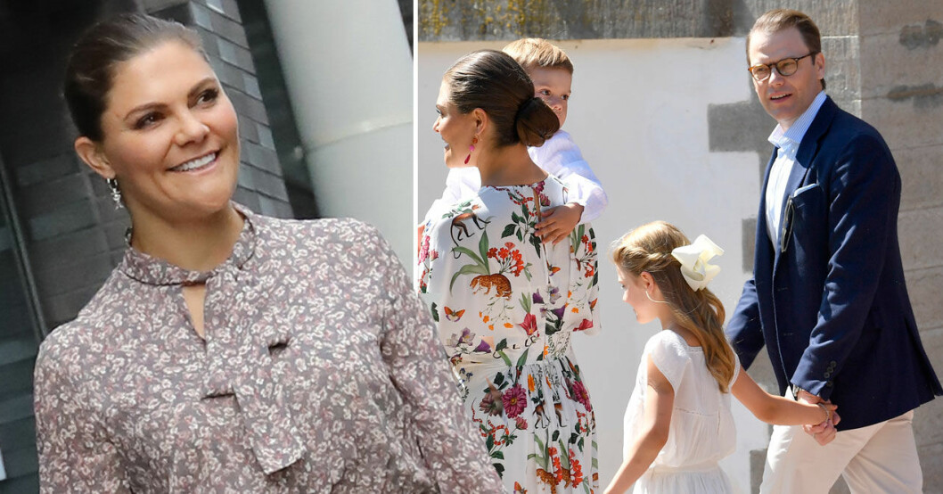 Kronprinsessan Victoria prins Daniel Victoriadagen 2021