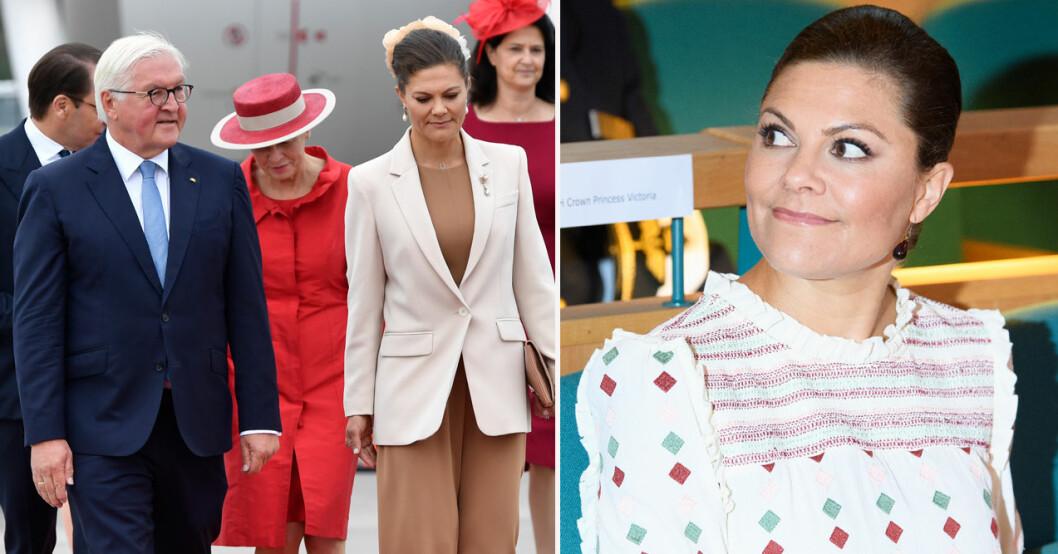 Kronprinsessan Victorias hemlighet under statsbesöket från Tyskland