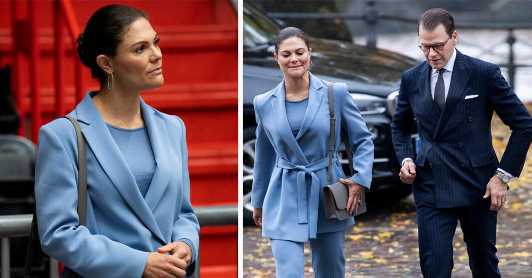 Kronprinsessan Victoria med ny Yves Saint Laurent väska