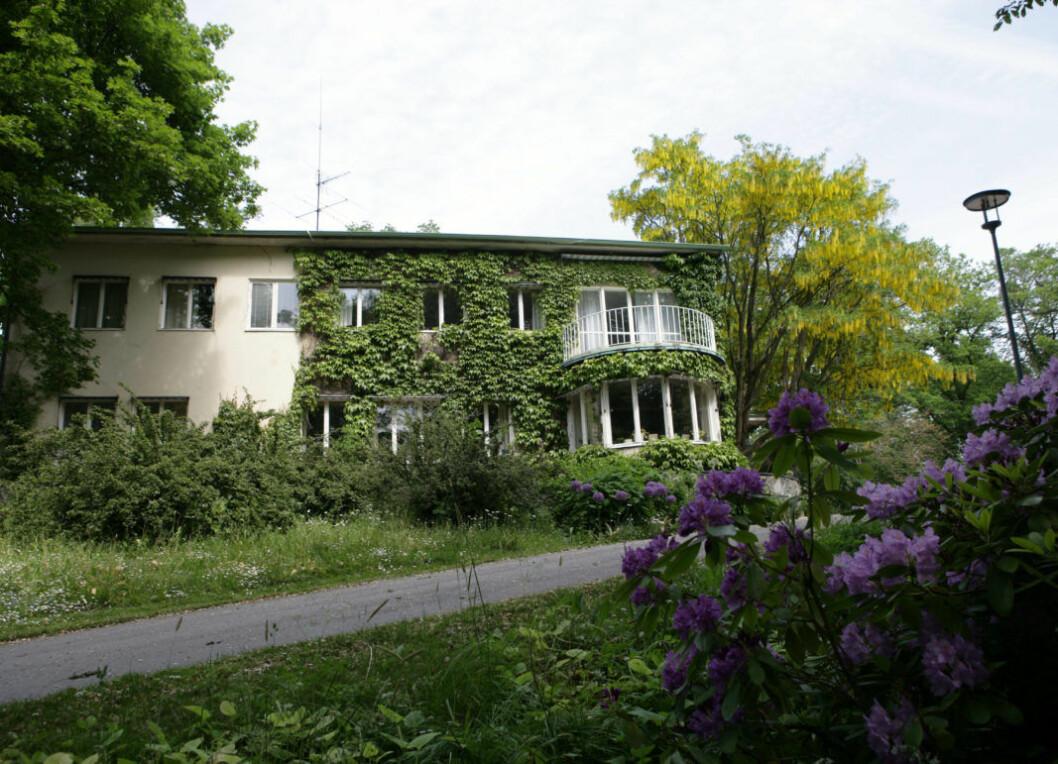 Så här såg Villa Solbacken ut före renoveringen.