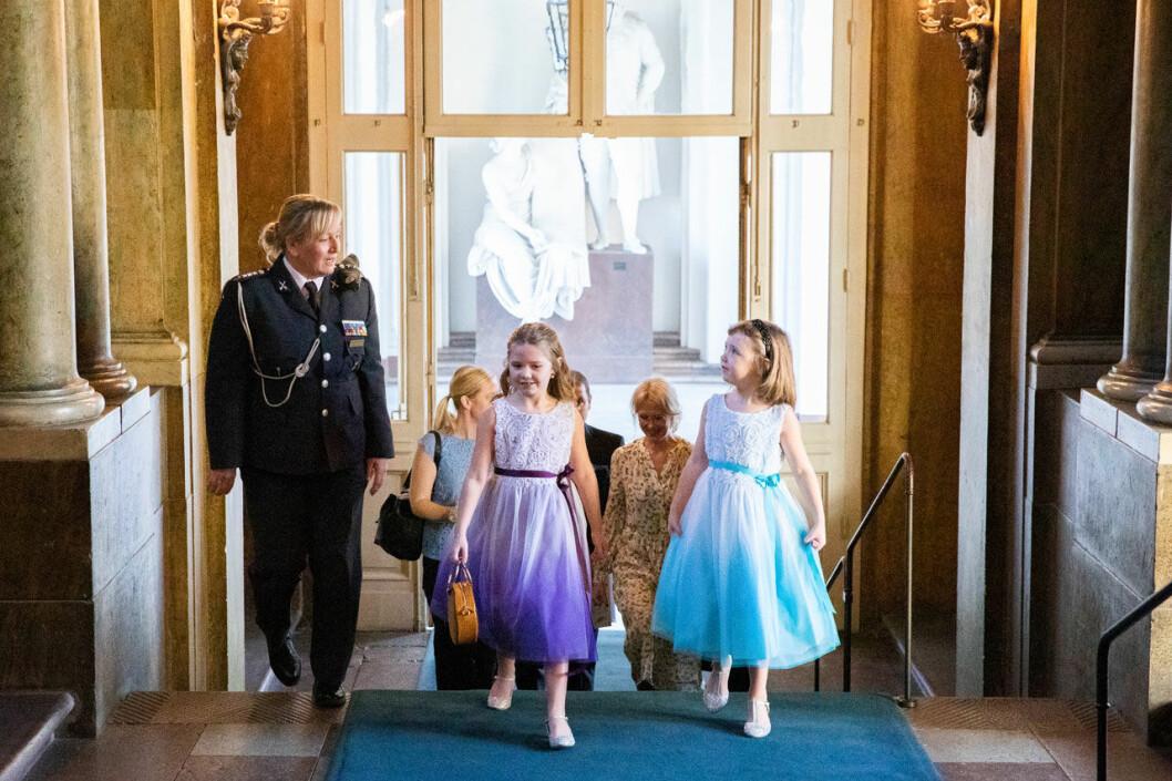 Min Stora Dag såg till att cancersjuka Emilia från Trelleborg fick komma till slottet och träffa kronprinsessan Victoria.