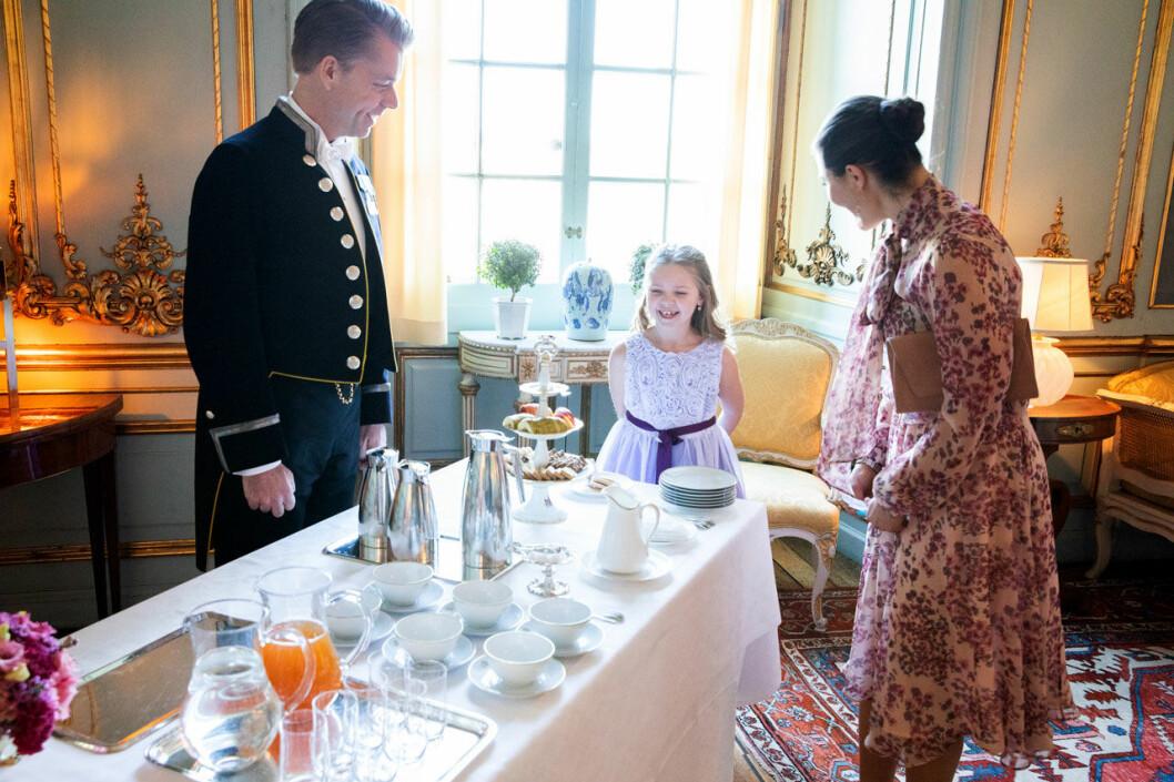 Systrarna Emilia och Maja fick träffa Victoria. En av alla Stora Dagar som Stiftelsen Min Stora Dag ordnar varje år.