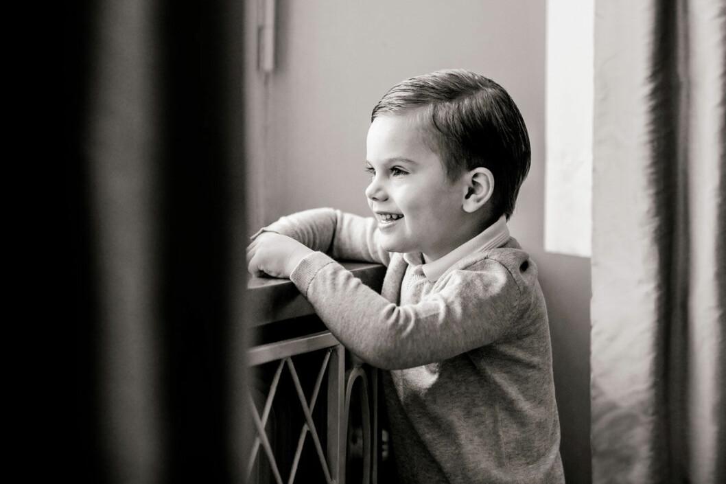 Prins Oscar på Haga slott. 4 år. 2020.