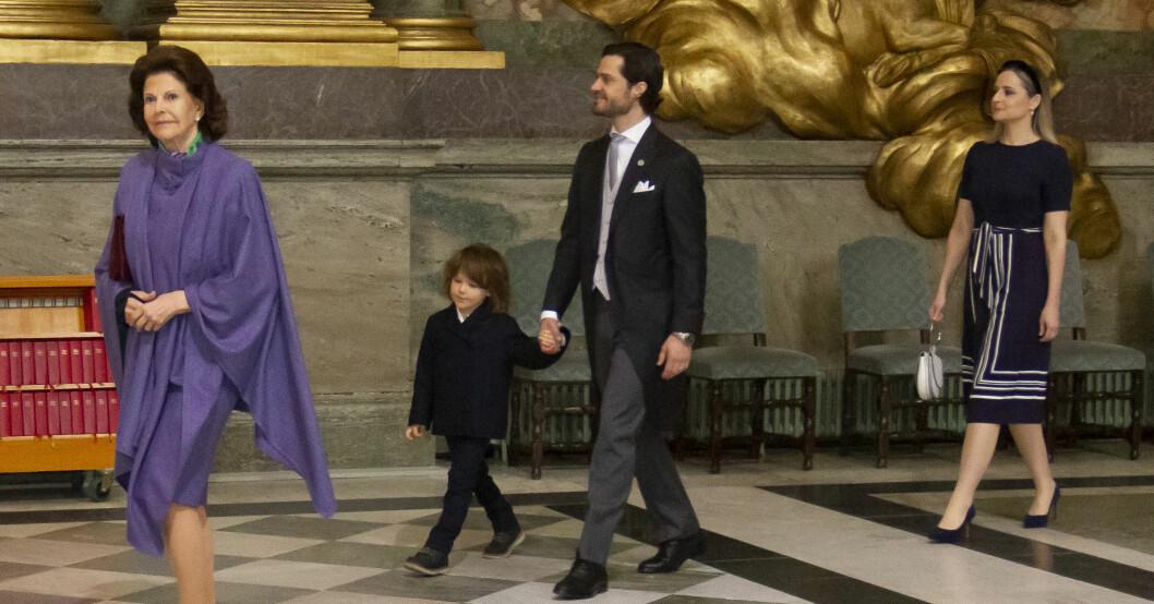 Drottning Silvia Prins Alexander Prins Carl Philip Lina Hellqvist Te Deum Prins Julian