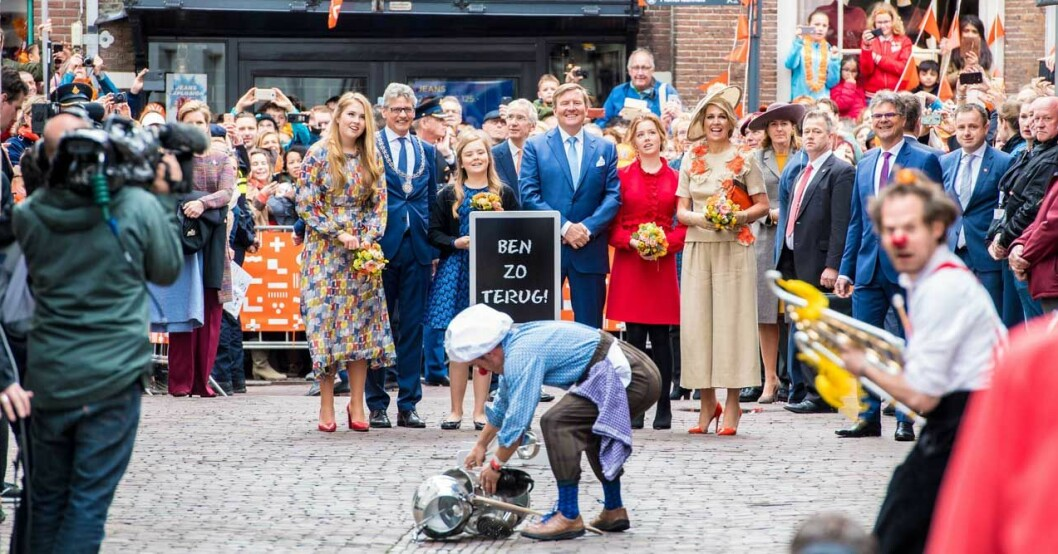 kung Willem-Alexander drottning Mazima barn
