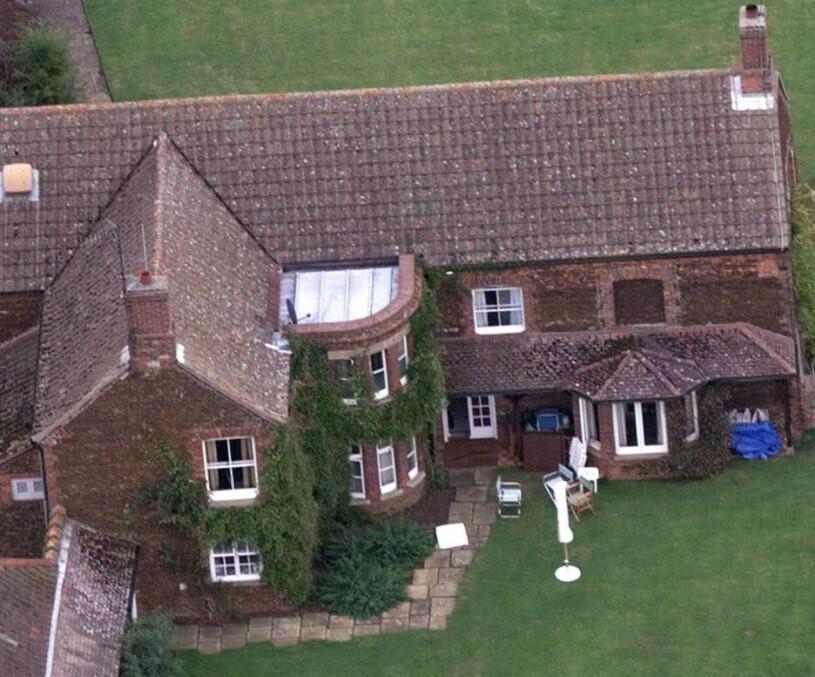 Wood Farm slottet Sandringham Norfolk Prins Philip Brittiska kungafamiljen reträttplats