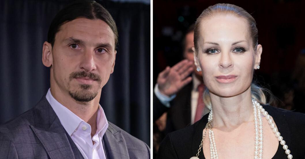 Zlatan Ibrahimovic och Helena Seger