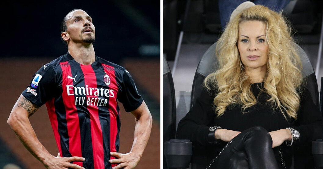 Zlatan Ibrahimovic tar ett drastiskt beslut för Helena Seger och sönerna.